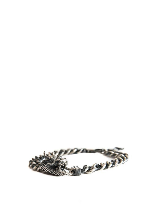 Silver Dragon Bracelet
