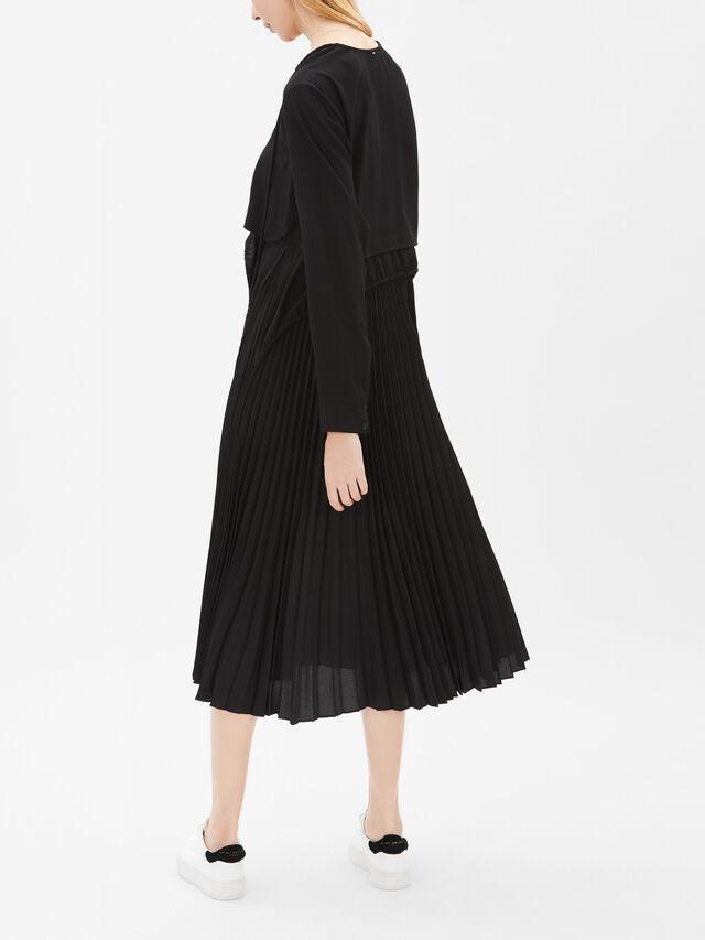 Lari Pleat Skirt Dress