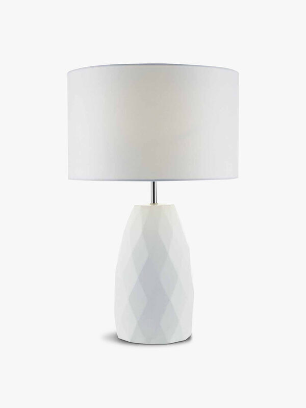 Ciara Table Lamp White