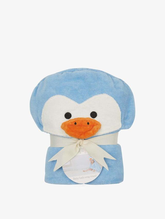 Penguin Baby Towel