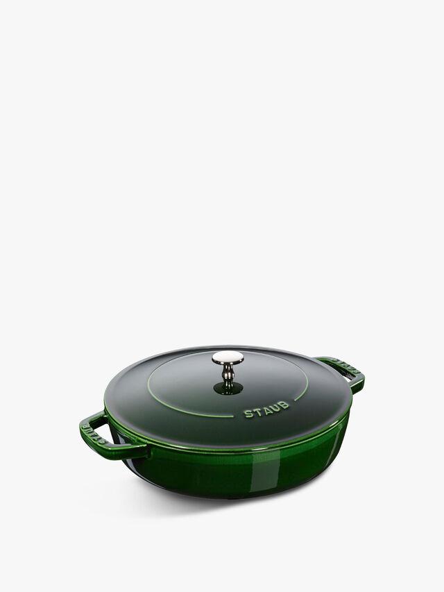 Round Saute Pan Chistera Lid 28cm