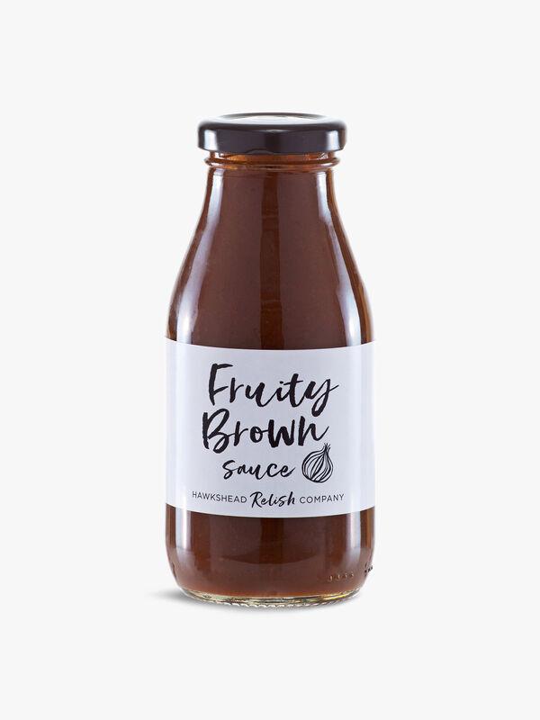Relish Fruity Brown Sauce 270g
