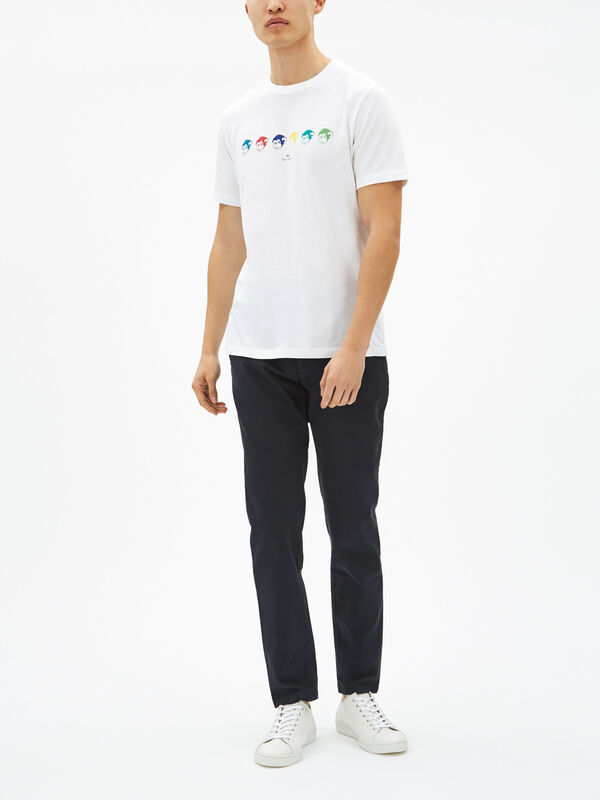 Monkey Motif T-Shirt