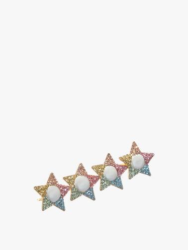Rainbow Star Hair Clip