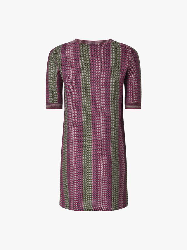 Dieci Printed Short Dress