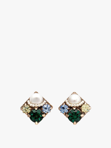 Waterlily Post Earrings