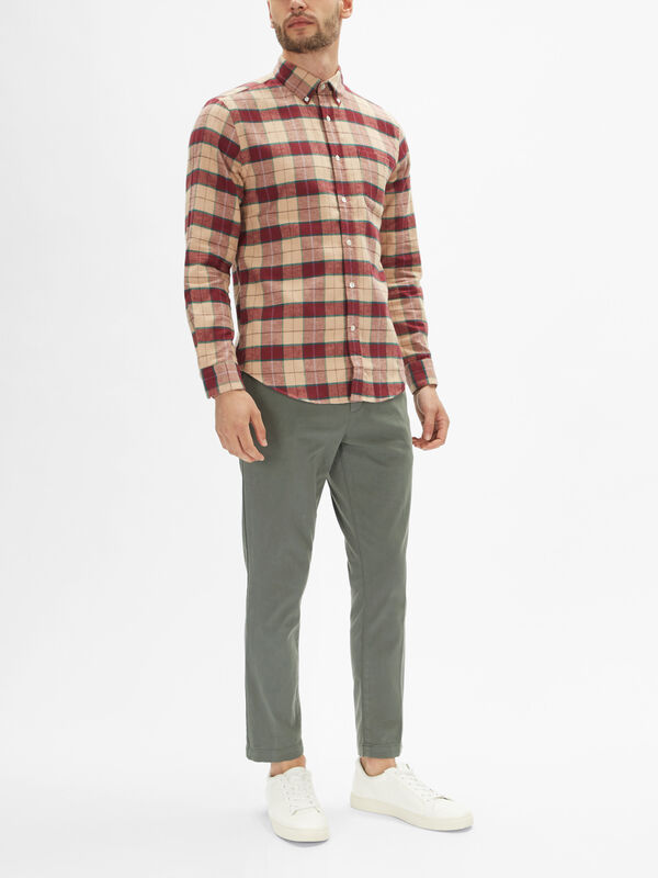 Pastry Flannel Check Shirt