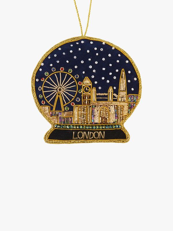 London Snowglobe Decoration