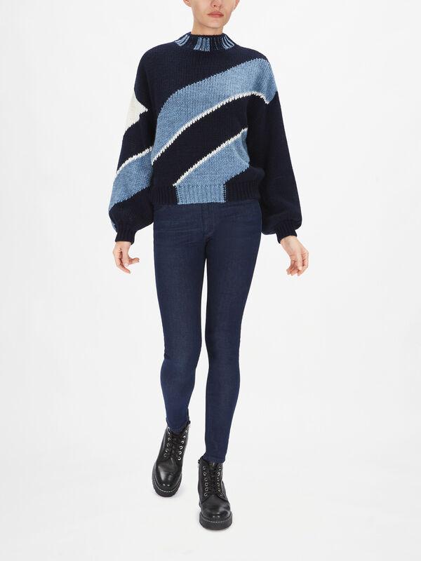 Adonis Diagonal Knit