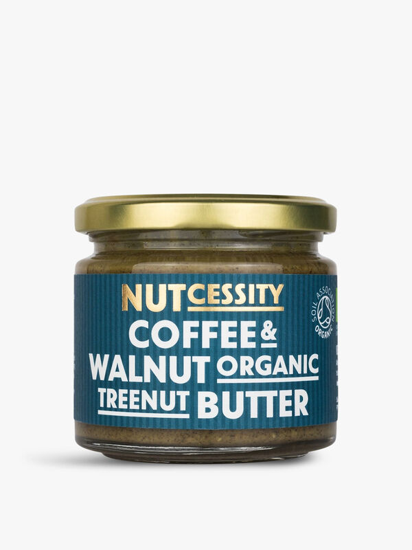 Ogranic Coffee and Walnut Butter