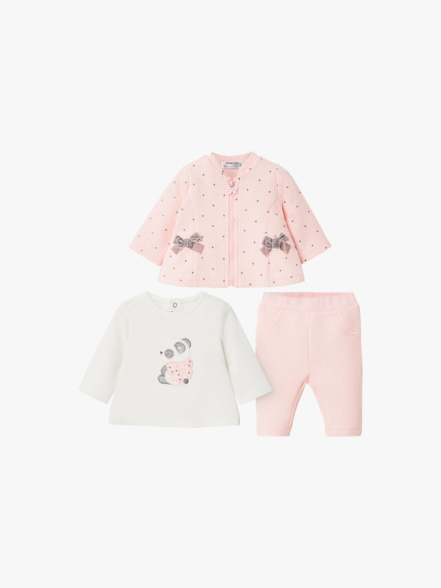Spot And Bow Three Piece Set