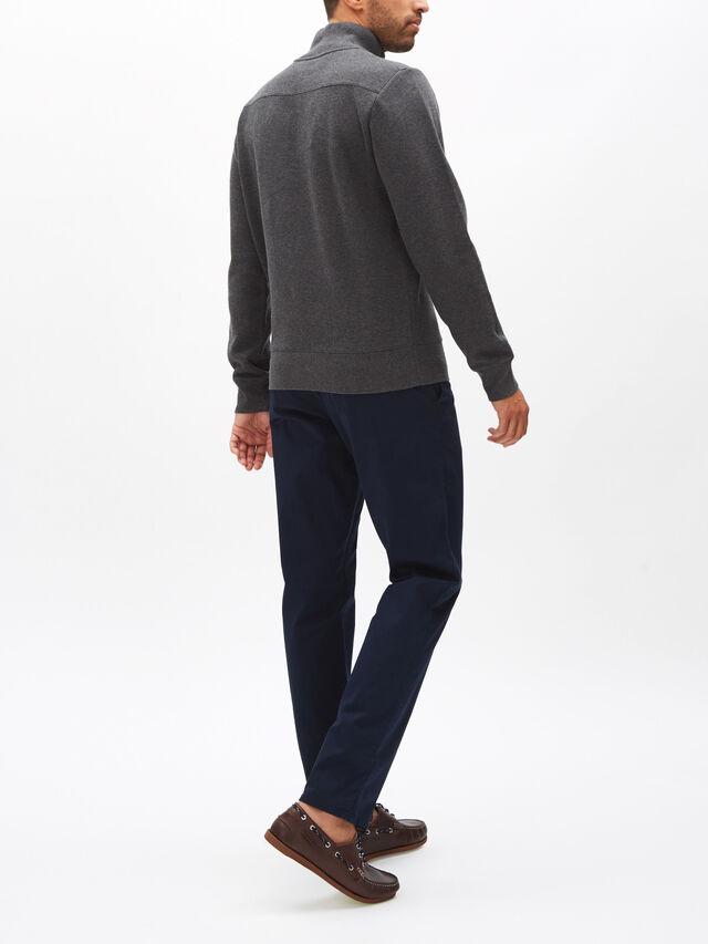 Sacker Rib Half Zip Sweatshirt