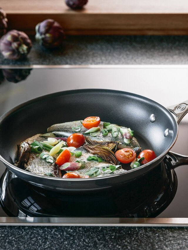 Signature Stainless Steel 30cm Frying Pan