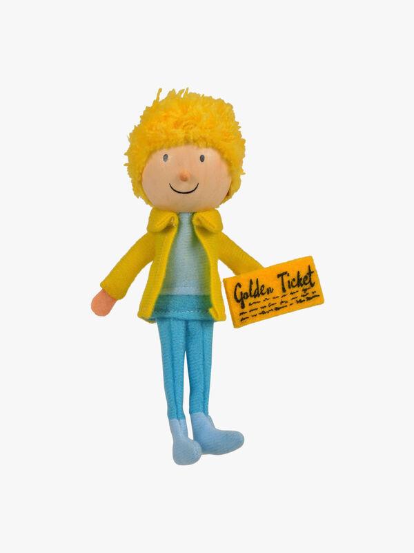 Charlie Bucket Finger Puppet