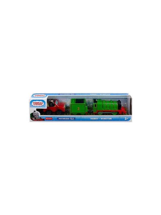 Henry, Winston, Sir Topham Hatt Toy Train