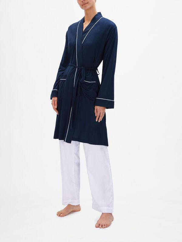 Lara Ladies Jersey Robe