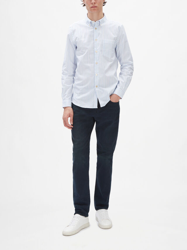 Tailored-Fit Stripe Shirt