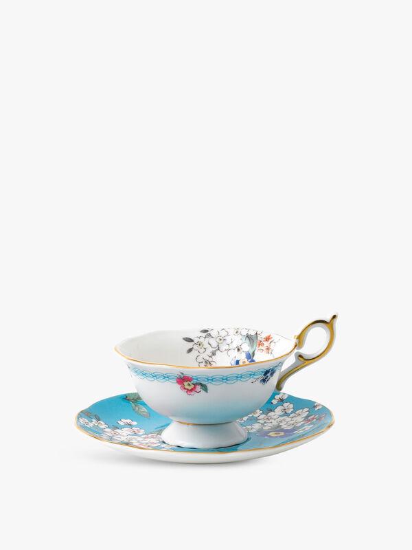 Wonderlust Blossom Teacup & Saucer