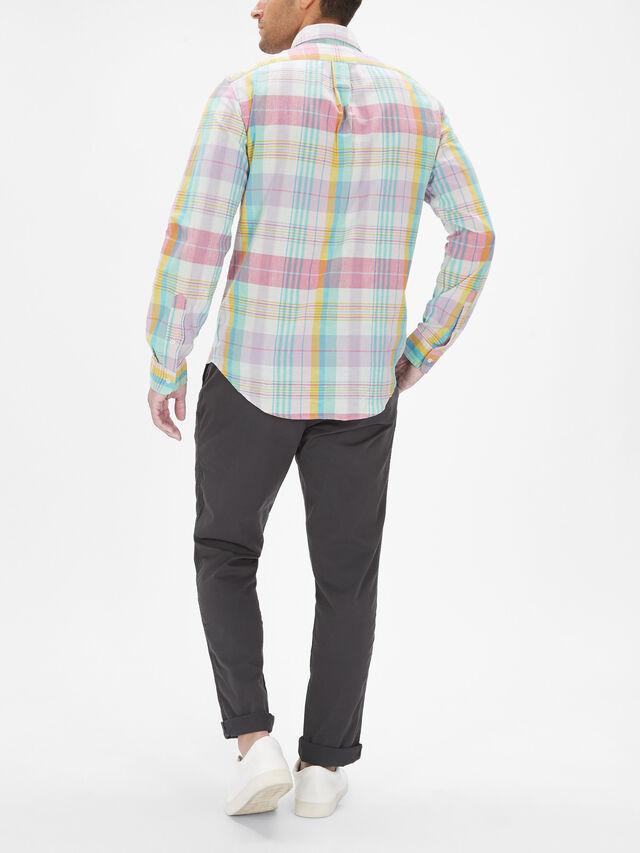 Madras Check Long Sleeve Shirt