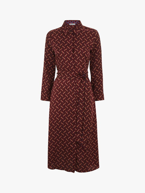 Ismaele Belted Shirt Dress