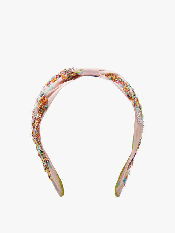 Sequin Squirl Headband