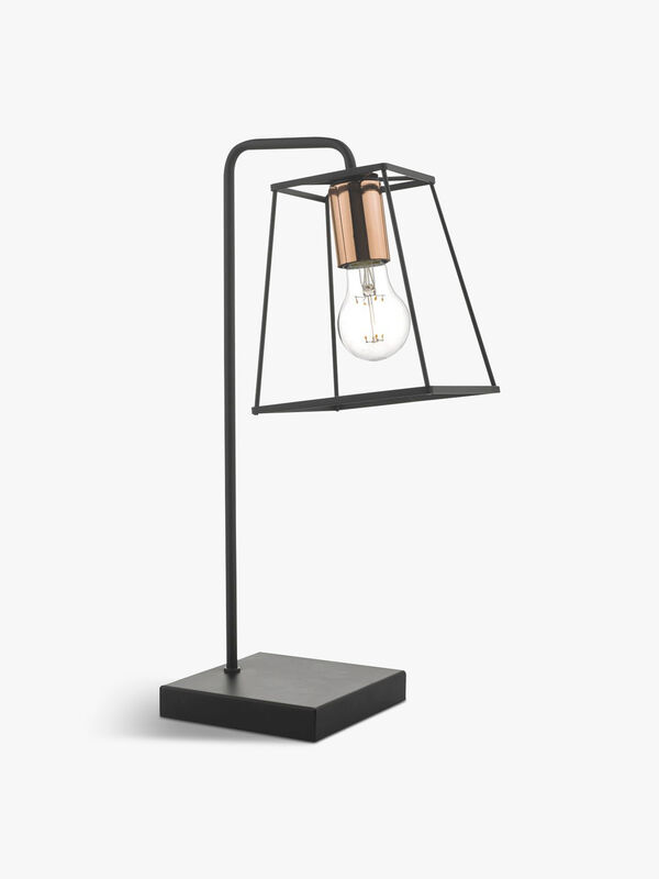 Tower Table Lamp Black