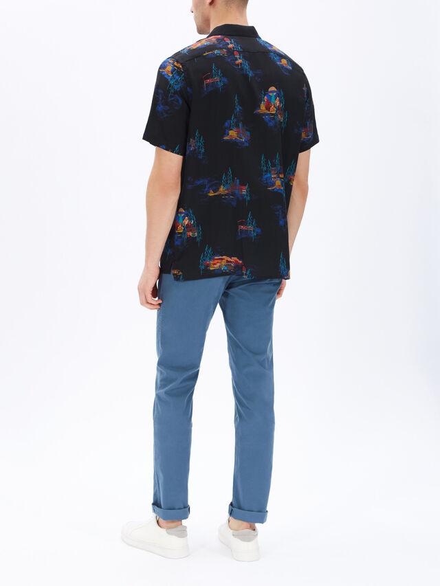 UFO Motel Print Shirt