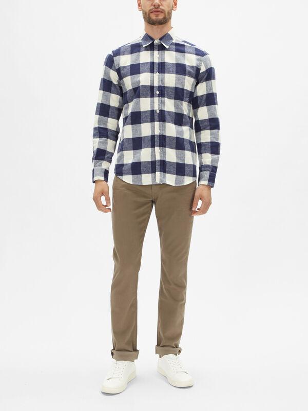 Buffalo Flannel Check Shirt