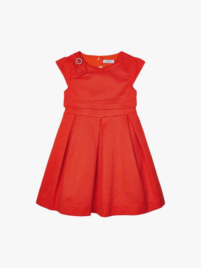 Waisted Cap Sleeve Dress