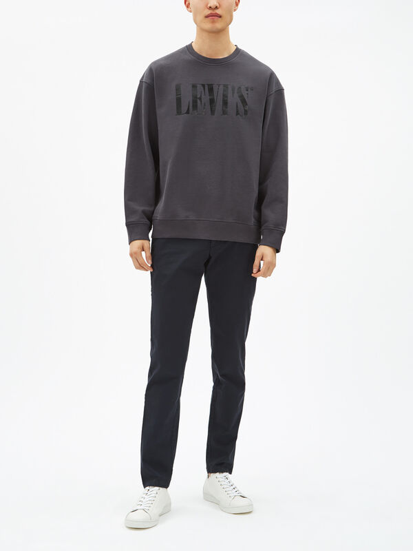90's Serif Shiny Logo Sweatshirt