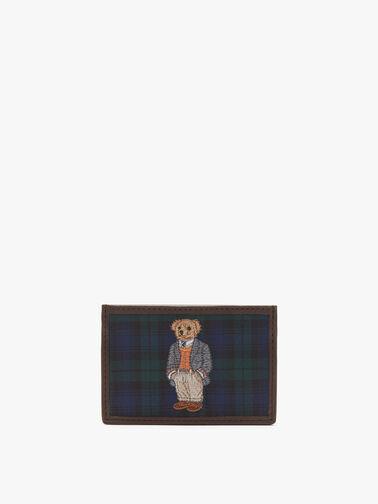 Bear Tartan Cardholder