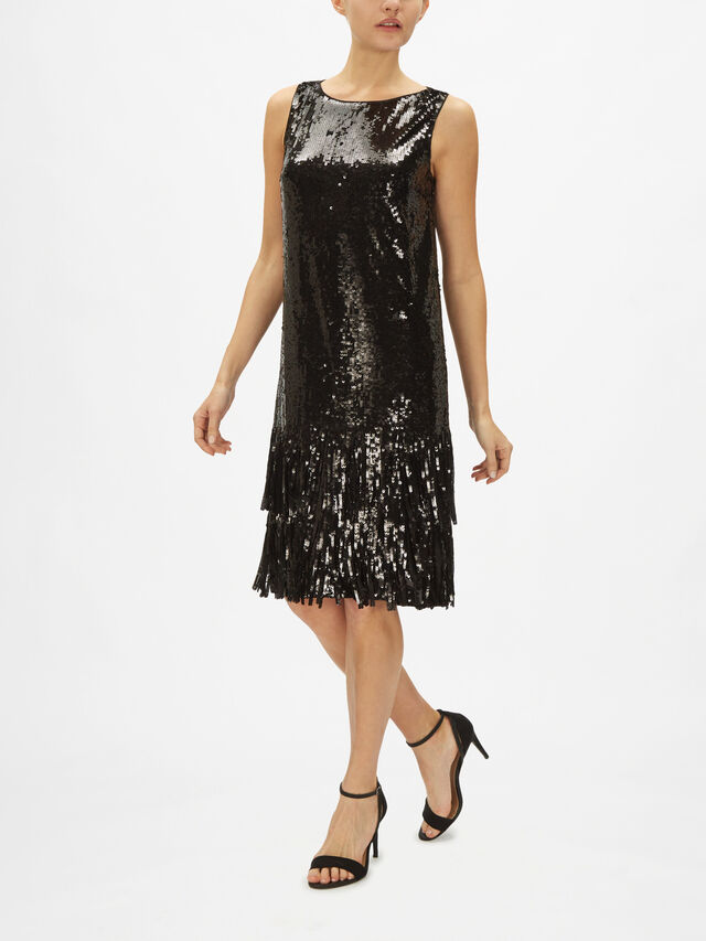 Colmo Embellished Dress With Tulle Layered Hem