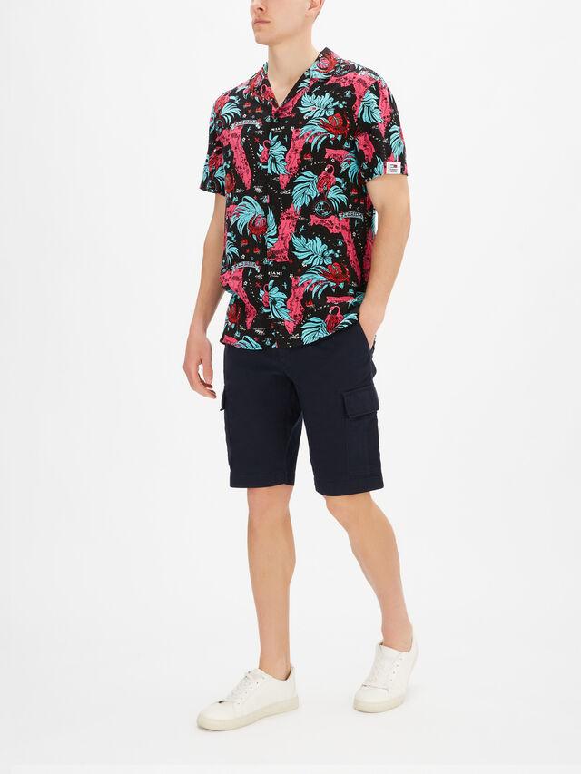 Miami Print Camp Shirt