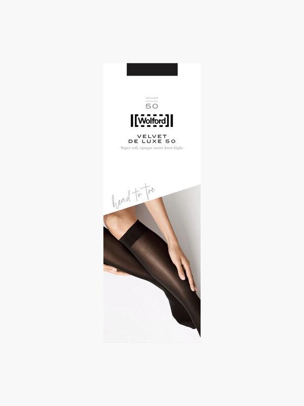 Velvet Deluxe Knee Hi