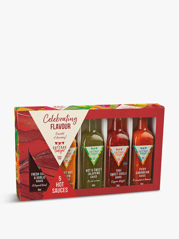 Celebrating Flavours Hot Sauces 300ml