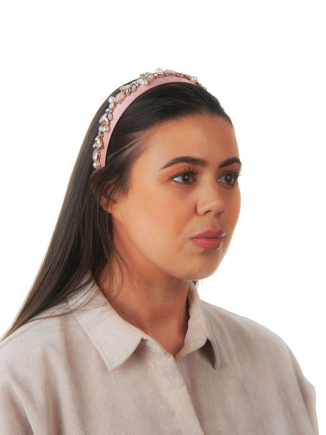 Embellished Detail Thin Crown Headband