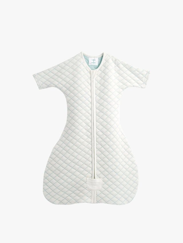 Snug Sleeved Sleeping Bag 1 5 Tog 3-6M Cream/Mint