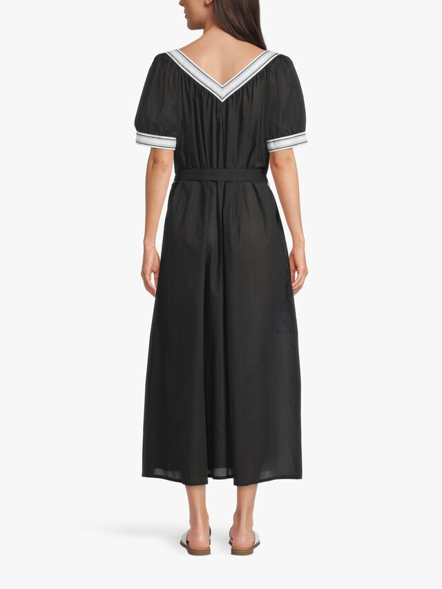 Long voile dress