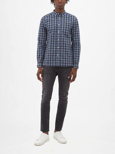 Check-Poplin-Shirt-LW1309V