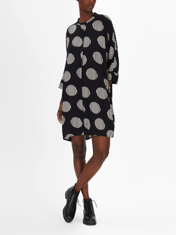 Iosetta Kanye Print Dress