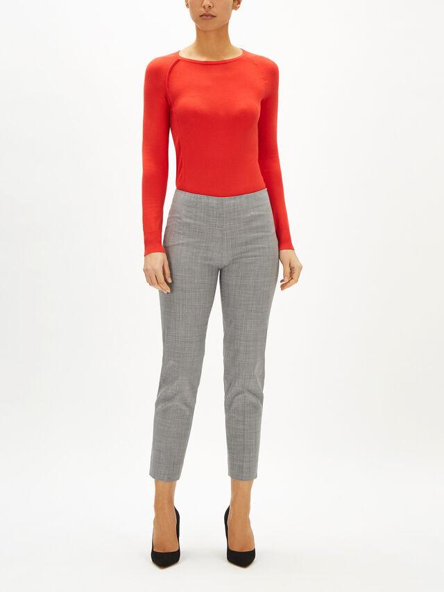 Monia Tropical Wool Trouser