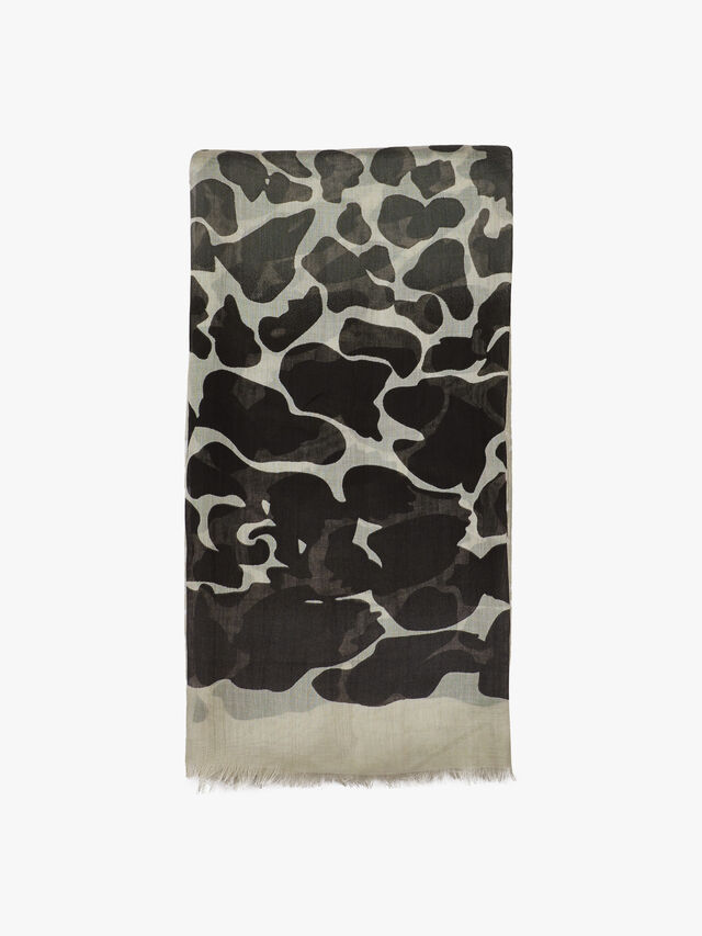 Animal Leopard Print Scarf