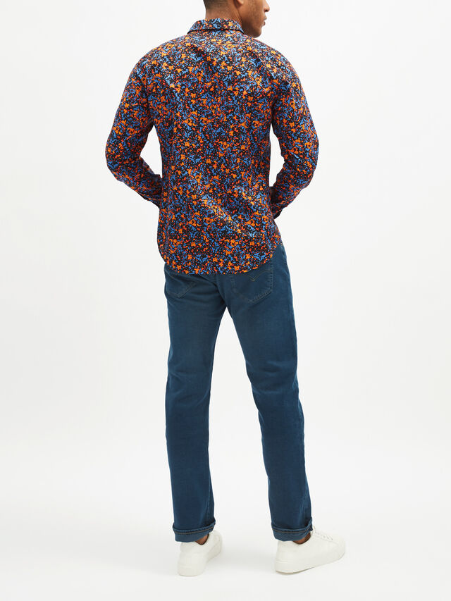 Tailored Fit Printed Shirt