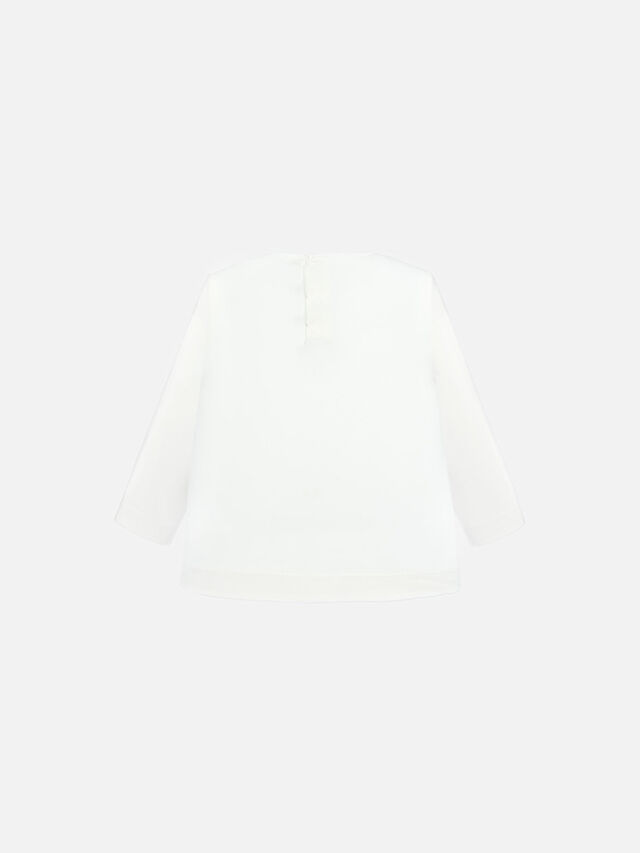 Long Sleeve Mouse Print Top