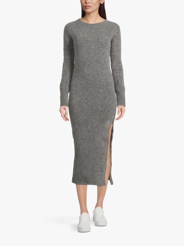 Knitted-Long-Dress-with-Side-Slit-L1WD70