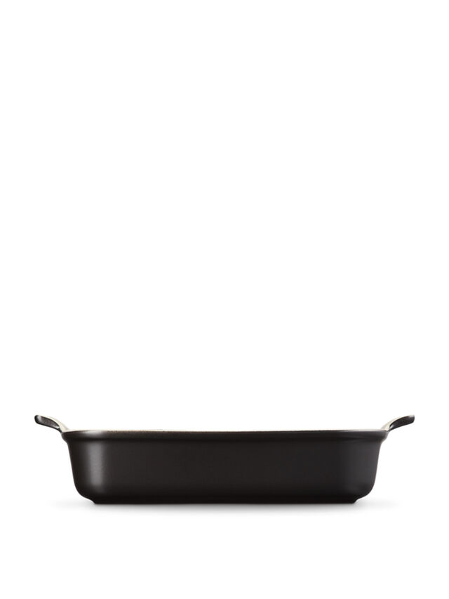 Deep Rectangular Dish 32cm Black