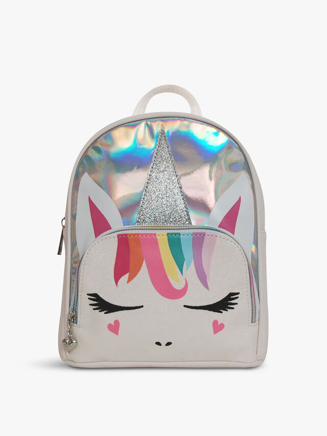 Rainbow Hair Unicorn Glitter Face