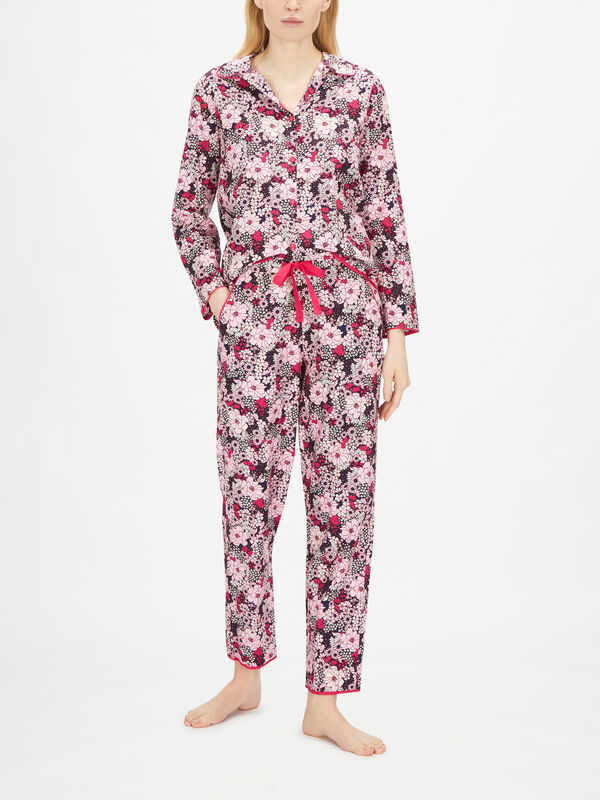 Ariana Pink Floral Print Pant