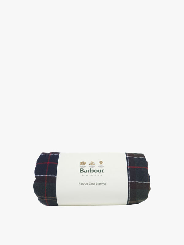 Large Tartan Wool Touch Blanket