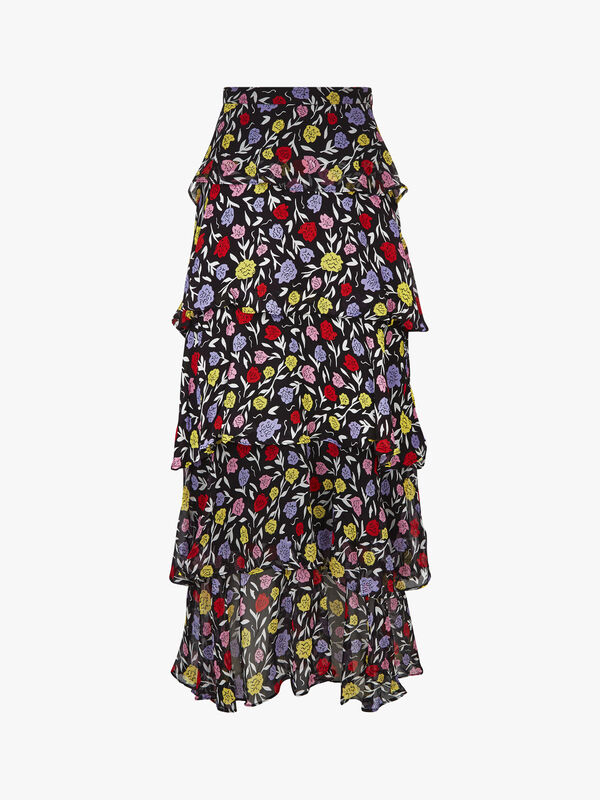 Jessica Floral Maxi Skirt